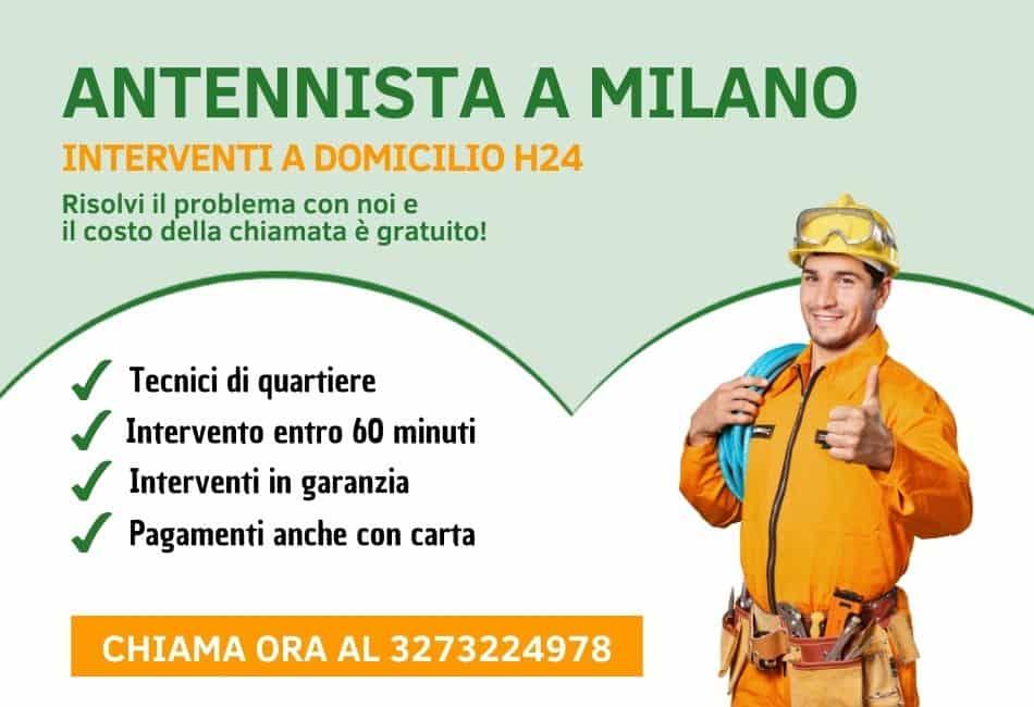 slider Antennista Milano
