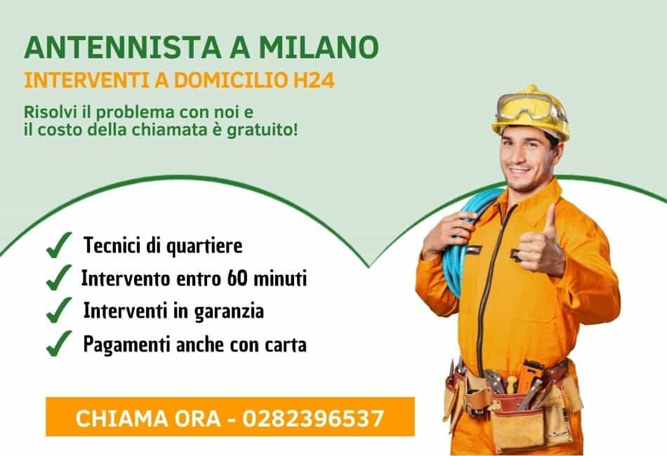Antennista Milano - 2